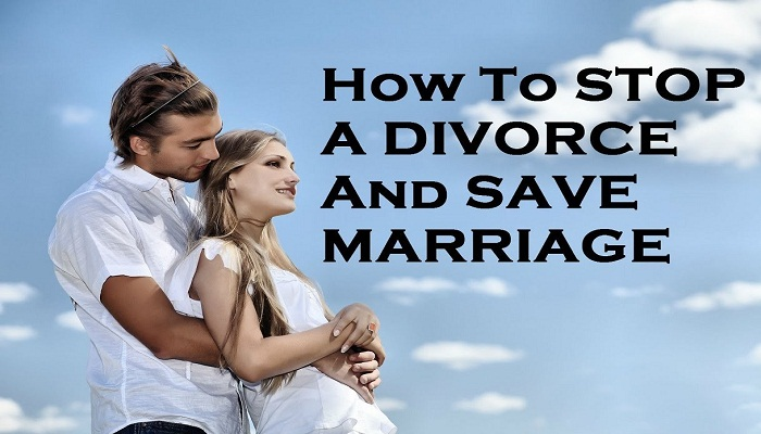 how to stop divorce and save marriage